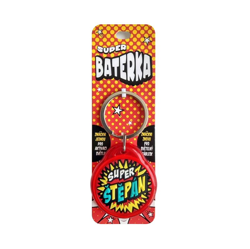 Super baterka - Štěpán