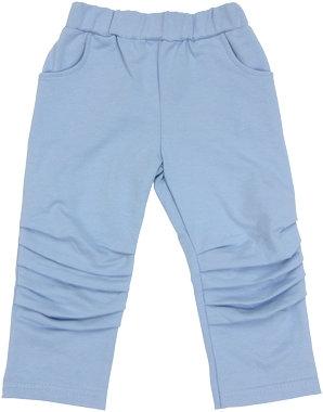 Mamatti Bavlněné tepláčky, kalhoty Boy - modré - 74 (6-9m)