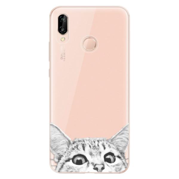 Odolné silikonové pouzdro iSaprio - Cat 02 - Huawei P20 Lite