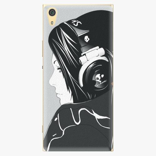 Plastový kryt iSaprio - Headphones - Sony Xperia XA1 Ultra