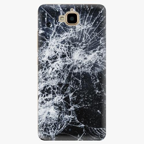 Plastový kryt iSaprio - Cracked - Huawei Y6 Pro