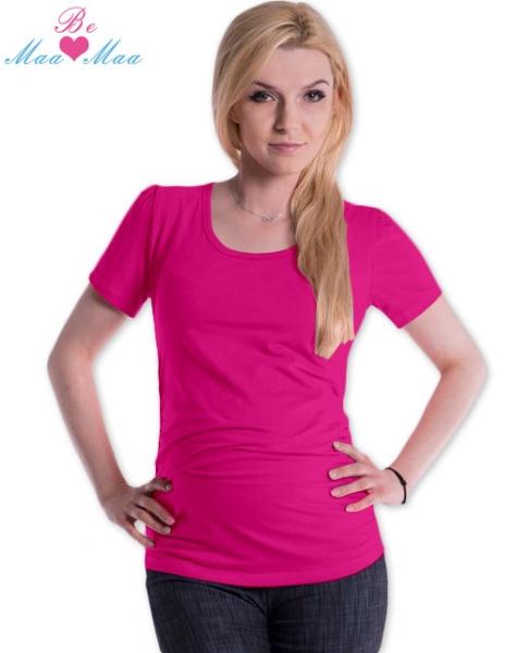 be-maamaa-triko-joly-bavlna-nejen-pro-tehotne-syte-ruzove-s-m