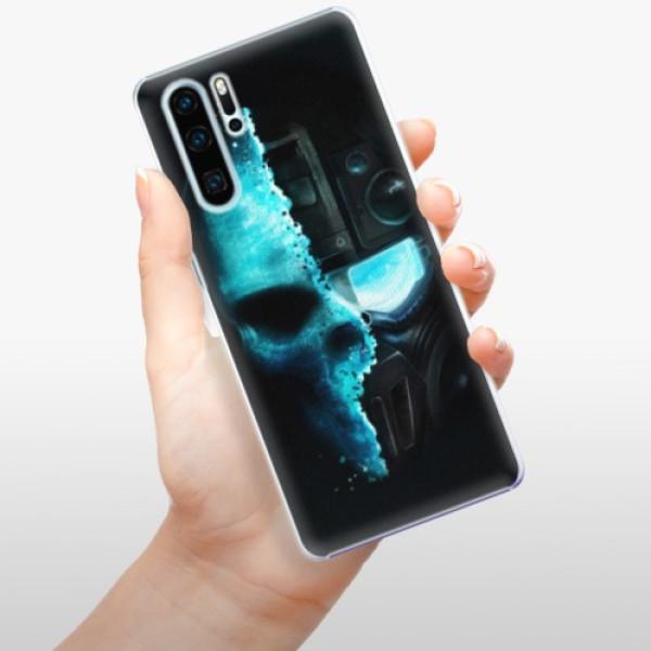 Plastové pouzdro iSaprio - Roboskull - Huawei P30 Pro
