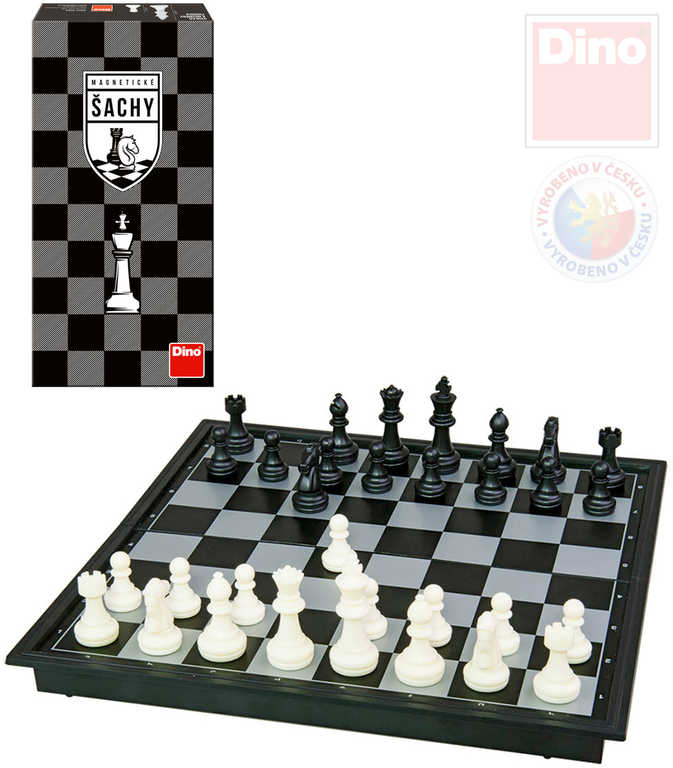 DINO Hra Šachy magnetické *SPOLEČENSKÉ HRY*