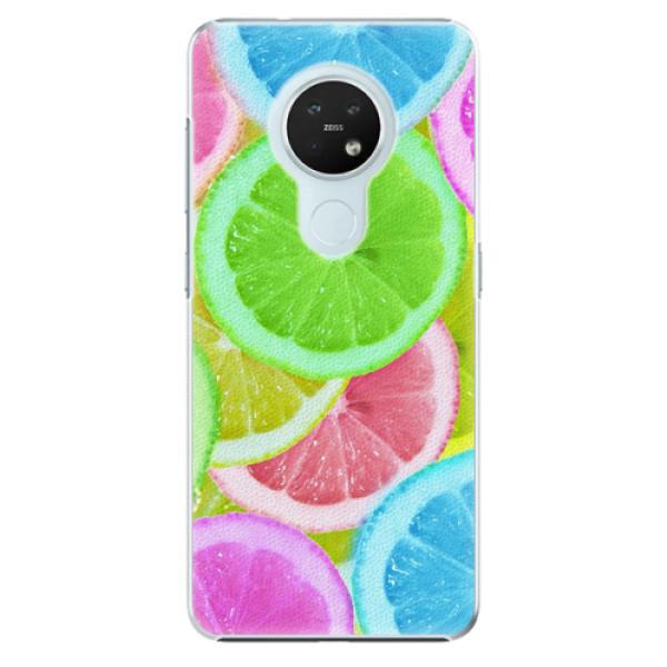Plastové pouzdro iSaprio - Lemon 02 - Nokia 7.2