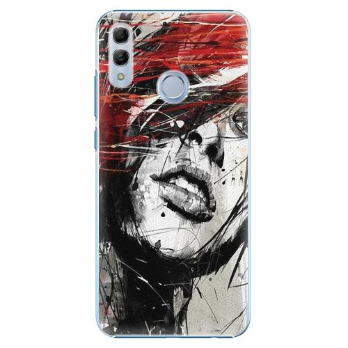Plastový kryt iSaprio - Sketch Face - Huawei Honor 10 Lite
