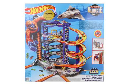 Hot Wheels City supergaráž FML03