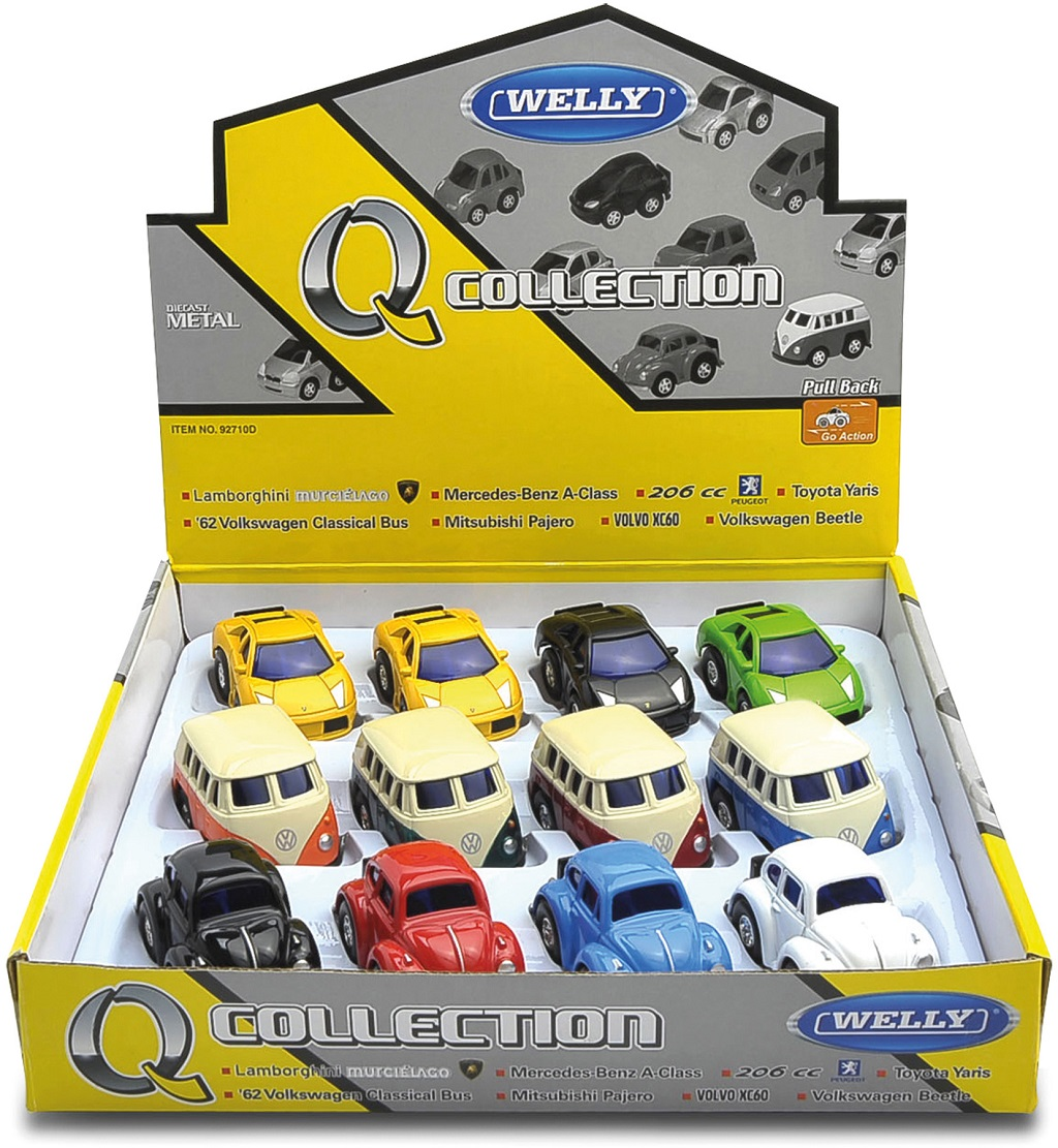 Welly Modely automobilů 1 ks