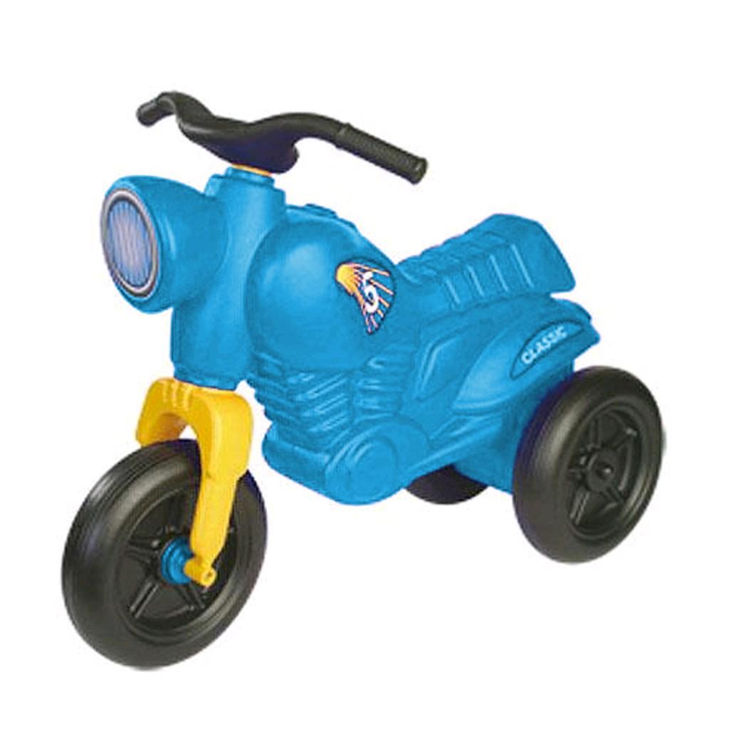 Odrážedlo Maxi Motor - tyrkysové - modrá