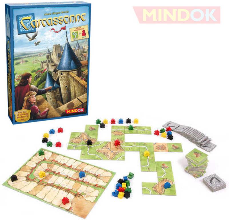 MINDOK HRA Carcassonne *SPOLEČENSKÉ HRY*