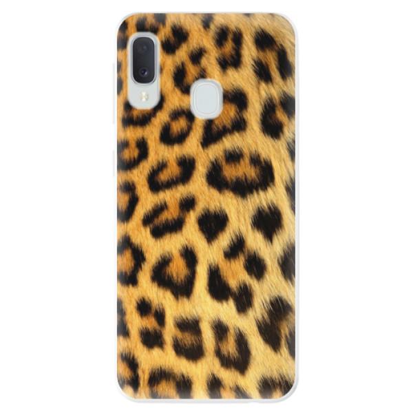 Odolné silikonové pouzdro iSaprio - Jaguar Skin - Samsung Galaxy A20e