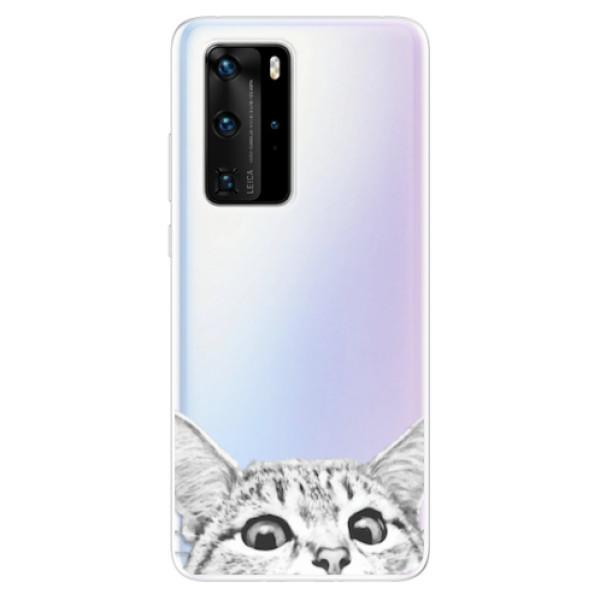 Odolné silikonové pouzdro iSaprio - Cat 02 - Huawei P40 Pro