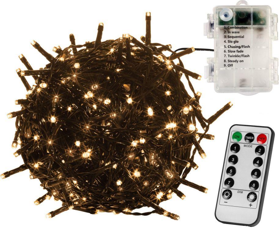 voltronic-vanocni-retez-10-m-100-led-teple-bily-ovladac