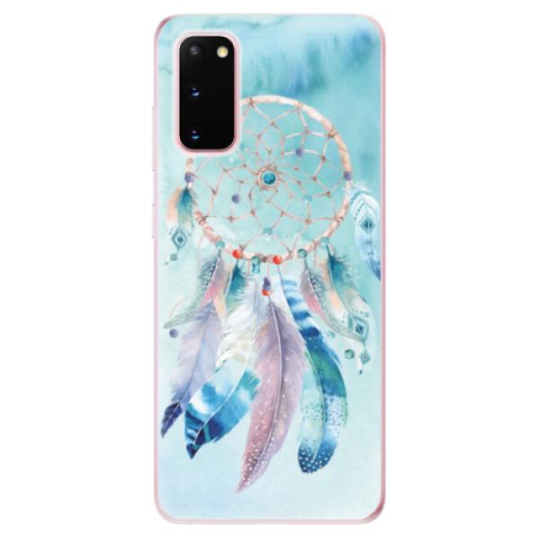 Odolné silikonové pouzdro iSaprio - Dreamcatcher Watercolor - Samsung Galaxy S20