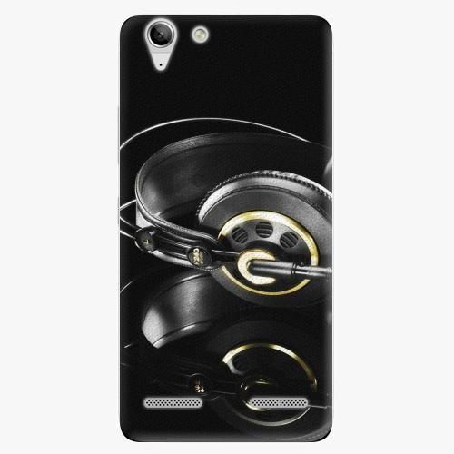 Plastový kryt iSaprio - Headphones 02 - Lenovo Vibe K5