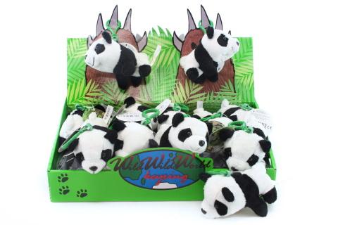 Plyš Panda klíčenka
