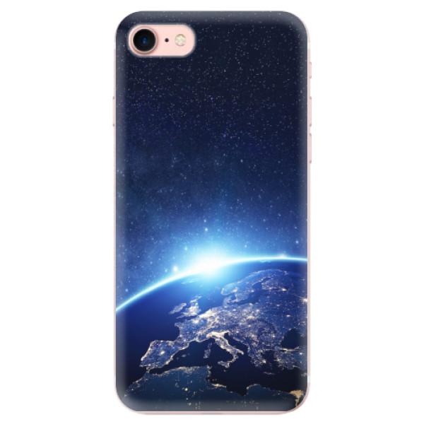 Odolné silikonové pouzdro iSaprio - Earth at Night - iPhone 7
