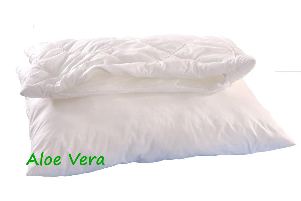 Polštář ALASKA Aloe Vera 70x90cm 900g 2x zip kuličky STANDARD