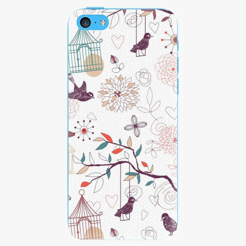 Plastový kryt iSaprio - Birds - iPhone 5C