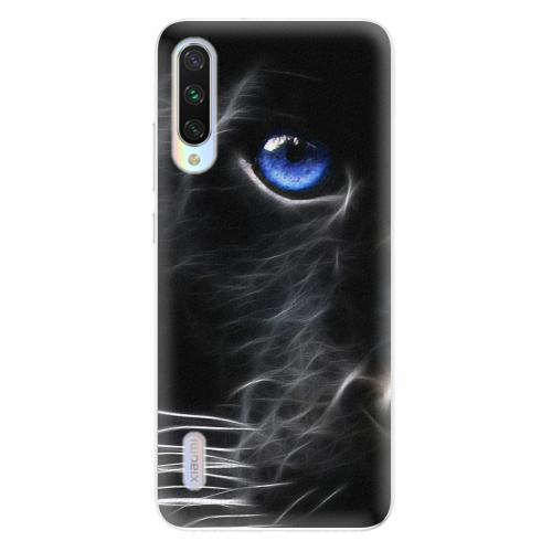 Silikonové pouzdro iSaprio - Black Puma - Xiaomi Mi A3