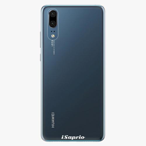 Silikonové pouzdro iSaprio - 4Pure - průhledný matný - Huawei P20