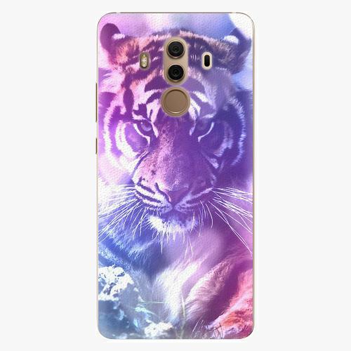 Plastový kryt iSaprio - Purple Tiger - Huawei Mate 10 Pro
