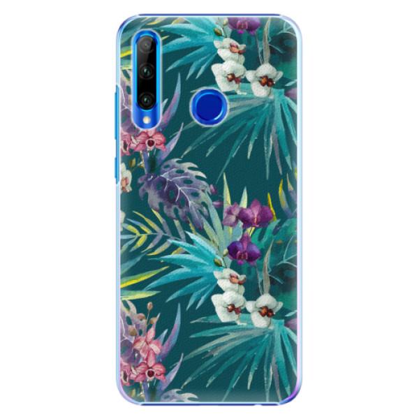 Plastové pouzdro iSaprio - Tropical Blue 01 - Huawei Honor 20 Lite