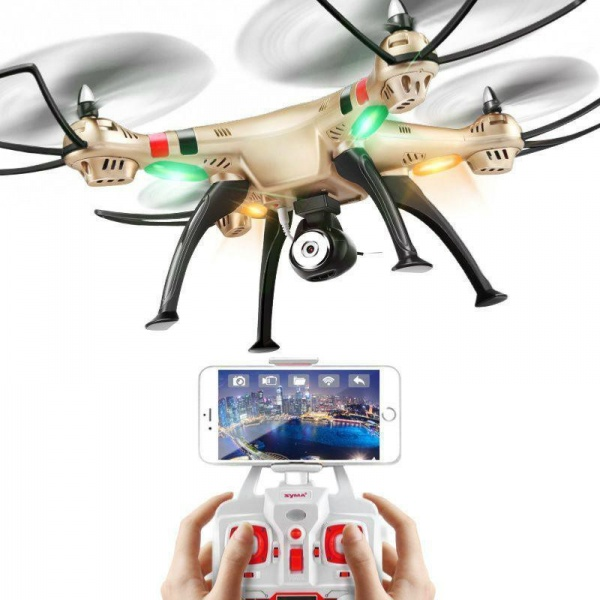 SYMA X8HW Wifi-HD FPV přenos videa + barometr - RC modely a drony na ... 9b07ca6df2