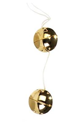 Venušiny kuličky zlaté 2