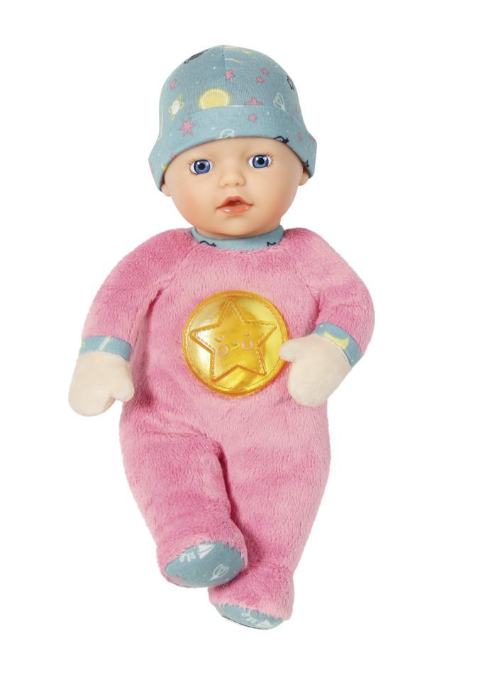 ZAPF BABY BORN Panenka miminko SVÍTÍCÍ VE TMĚ 30cm usínáček