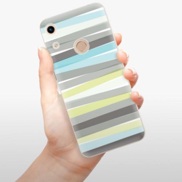 Odolné silikonové pouzdro iSaprio - Stripes - Huawei Honor 8A