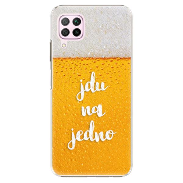 Plastové pouzdro iSaprio - Jdu na jedno - Huawei P40 Lite