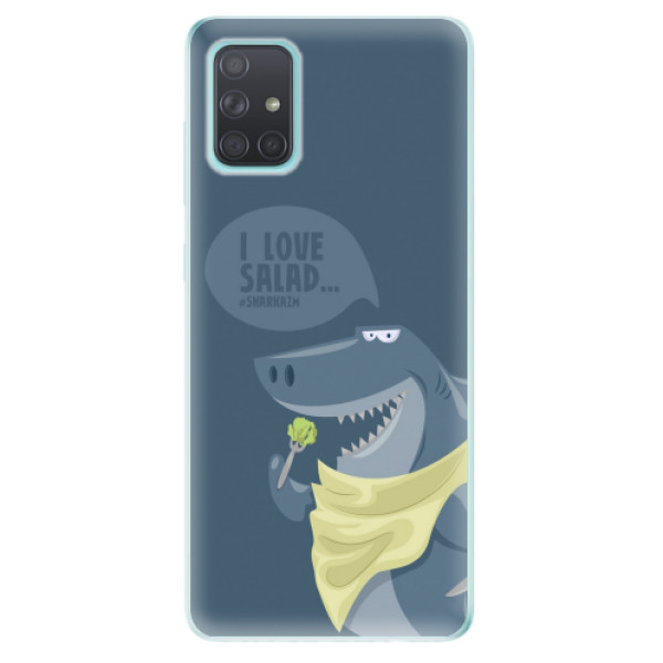 Odolné silikonové pouzdro iSaprio - Love Salad - Samsung Galaxy A71