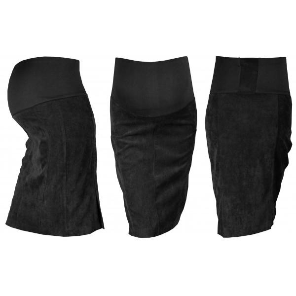 Těhotenská sukně MALO - černá - M