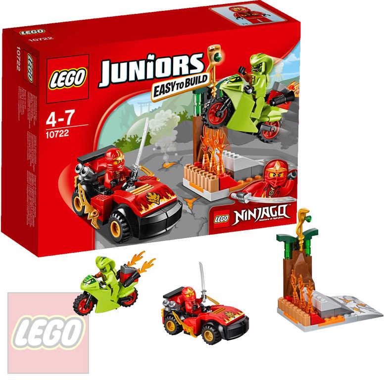 LEGO JUNIORS NINJAGO Finální hadí souboj STAVEBNICE 10722