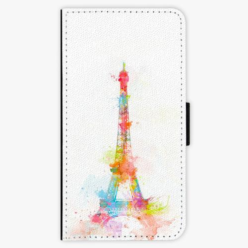 Flipové pouzdro iSaprio - Eiffel Tower - Lenovo Moto G5