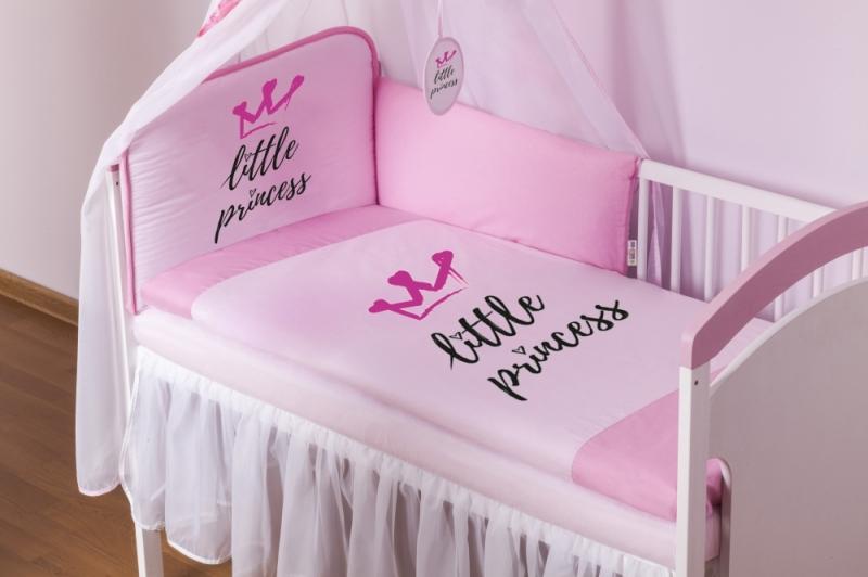 baby-nellys-4-dilna-sada-mantinel-s-povlecenim-little-princess-nebesa-ruzova-135x100-135x100