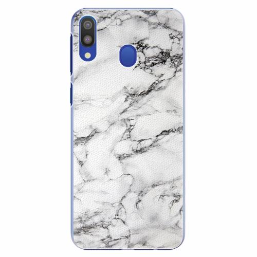 Plastový kryt iSaprio - White Marble 01 - Samsung Galaxy M20