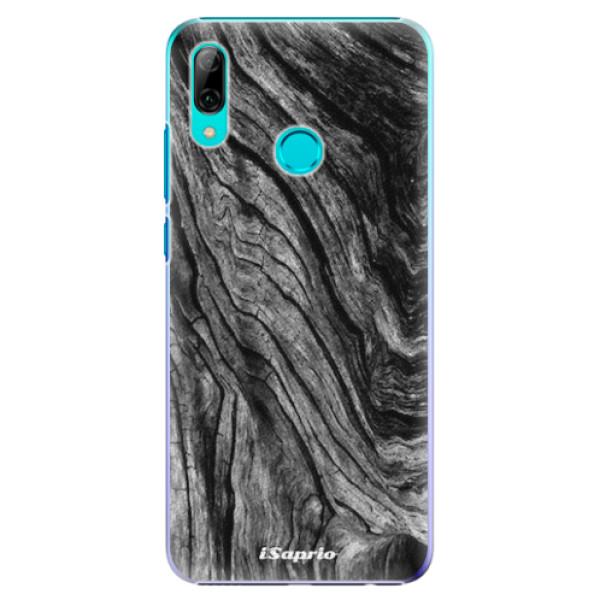 Plastové pouzdro iSaprio - Burned Wood - Huawei P Smart 2019