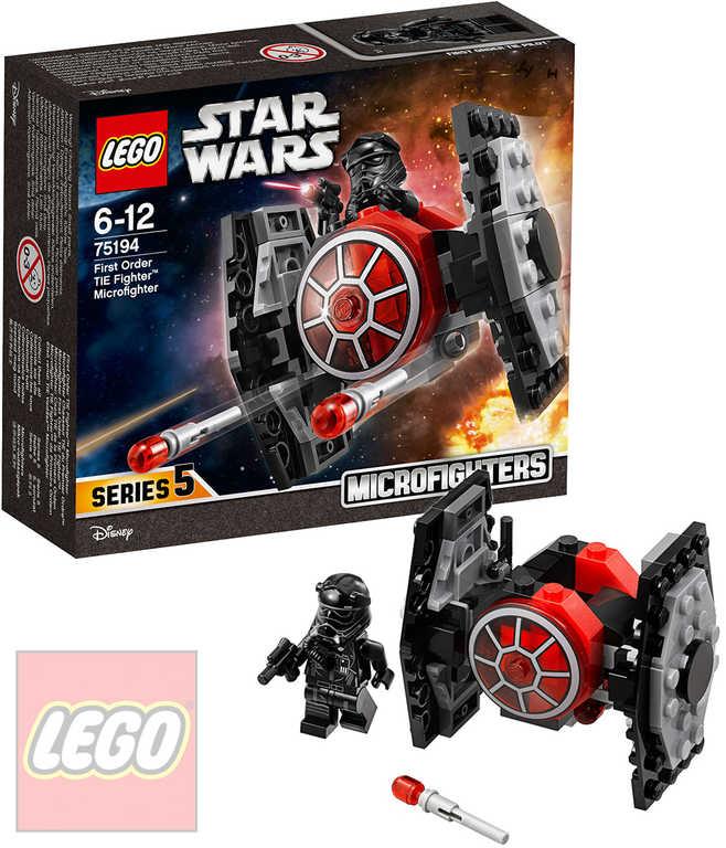 LEGO STAR WARS Mikrostíhačka Prvního řádu TIE Fighter STAVEBNICE 75194