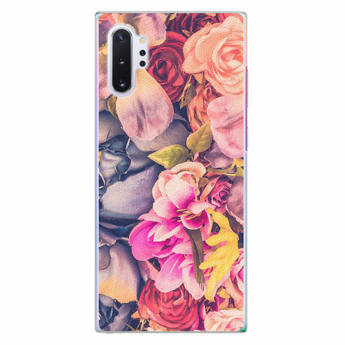 Plastový kryt iSaprio - Beauty Flowers - Samsung Galaxy Note 10+