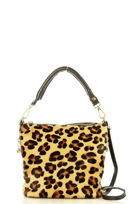 Přírodní kožená taška model 136619 Mazzini - UNI velikost