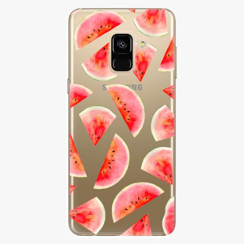 Plastový kryt iSaprio - Melon Pattern 02 - Samsung Galaxy A8 2018