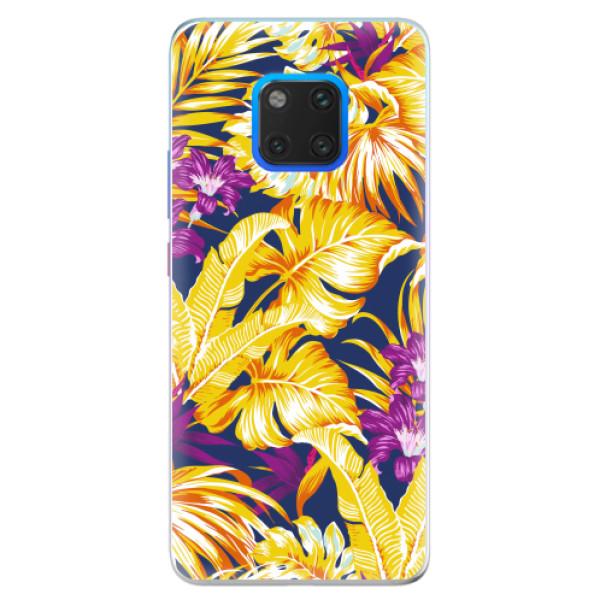 Silikonové pouzdro iSaprio - Tropical Orange 04 - Huawei Mate 20 Pro