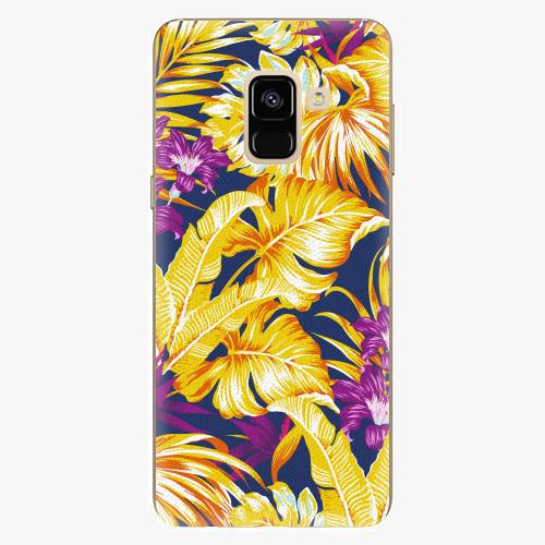 Plastový kryt iSaprio - Tropical Orange 04 - Samsung Galaxy A8 2018