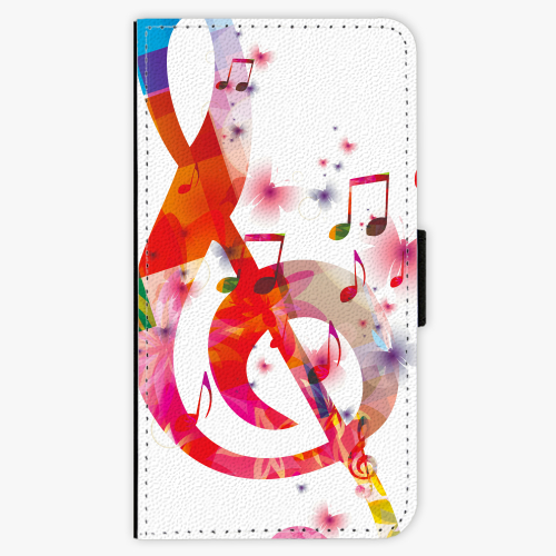 Flipové pouzdro iSaprio - Love Music - Samsung Galaxy A3