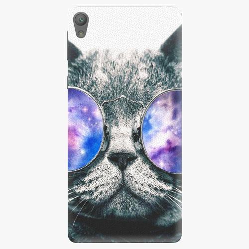 Plastový kryt iSaprio - Galaxy Cat - Sony Xperia E5