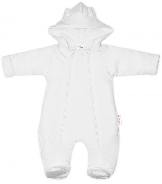 baby-nellys-kombinezka-s-dvojitym-zapinanim-s-kapuci-a-ousky-bila-56-1-2m