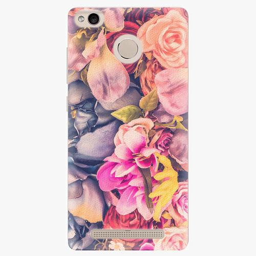 Plastový kryt iSaprio - Beauty Flowers - Xiaomi Redmi 3S