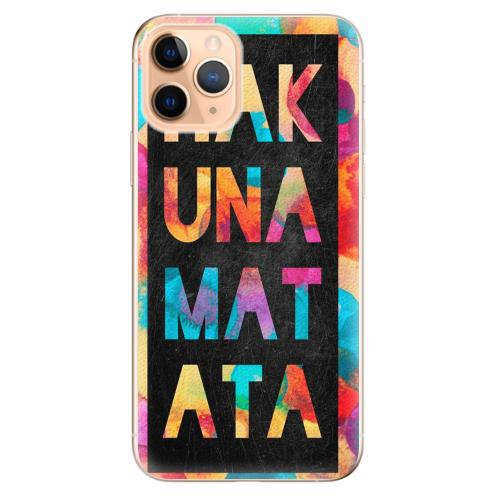 Silikonové pouzdro iSaprio - Hakuna Matata 01 - iPhone 11 Pro
